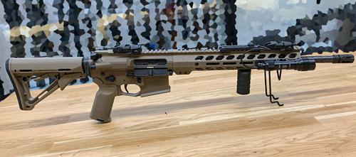 Alberta Tactical Custom AT-15 Semi-automatic Rifle, .223 Wylde w/Tactical Ordnance Cerakote?>