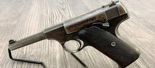 Colt Woodsman Pistol, 22 LR 4.5″ Barrel?>