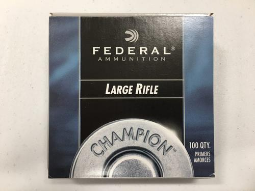 Federal Large Rifle Primers, No. 210, Box of 100?>