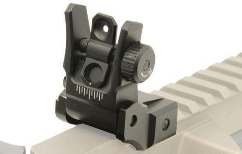 UTG Low Profile Flip-Up Rear Sights?>