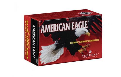 Federal American Eagle HV Match .22 Cal LR 38 Grain – 400rds?>