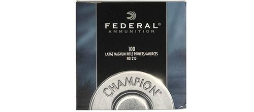 Federal Large Magnum Rifle Primers, no215, 100pk?>