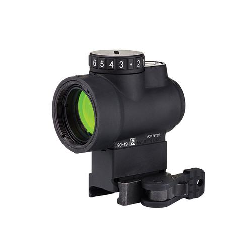 Trijicon MRO 1×25 2.0 MOA Adjustable Green Dot, Levered Quick Release Lower 1/3 Cowitness Mount [Special Order]?>