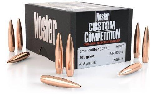 Nosler Custom Competition .22 80gr Bullets 1000ct?>