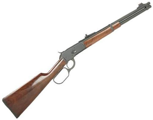 "Chiappa 1892 Trapper Skinner Lever Action Carbine - 357 Mag, 16"", Matte Blued, Color Cased Receiver, Walnut Stock, 7rds, Fiber Optic Front Sight?>"