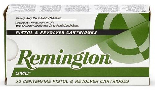 Remington UMC Pistol & Revolver Handgun Ammo - 9mm Luger, 115Gr, MC, 500rds Case?>