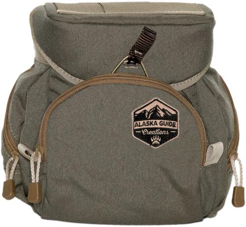 Alaska Guide Creations Binocular Harness Packs - Denali Bino Pack, Ranger Green, Fits Up To 15x56 Binoculars, & Extra Large Rangefinders?>