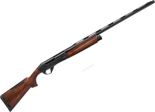 "Benelli Super Black Eagle III Semi-Auto Shotgun - 12Ga, 3.5"", 28"", Anodized Black, Vented Rib, A-Grade Satin Finish Wood Stock w/ComforTech 3, 3rds, Red-Bar Front & Metal Mid-Bead Rear Sights, Crio Chokes (IC,M)?>"