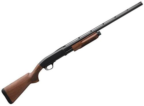 "Browning BPS Field Pump Action Shotgun, 12ga, 3"", 28"", Satin Finish Walnut Stock, Silver Bead Front Sight, 4rds, Invector-Plus Flush (F,M,IC)?>"