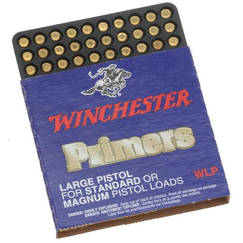 Winchester Large Pistol Primers, Standard or Magnum, 1000 pc Brick?>