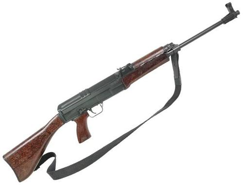 "Czech Small Arms (CSA) Sa vz. 58 Sporter Carbine Semi-Auto Rifle - 7.62x39mm, 18.6"", Chrome Lined, Black, Retro Bakelite/Wood Fixed Stock, 2x5/30rds?>"