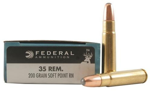 Federal Power-Shok Rifle Ammunition - 35 Rem, 200Gr, RNSP, 2080fps, 20rds Box?>