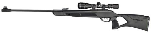 Gamo Magnum Air Gun, Break Action Single Shot Airgun - .22, 1300fps, IGT MACH 1 Gas Piston, Thumb Hole All Weather Stock, 3-9x40 Scope?>