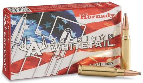 Hornady American Whitetail Rifle Ammo - 6.5 Creedmoor, 129Gr, Interlock Spire Point, 200rds Case?>