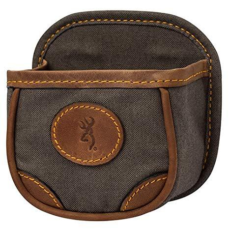 Browning Shell Carrier - Lona Canvas/Leather Shell Box Carrier, Flint?>
