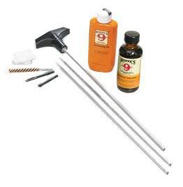 Hoppe's No. 9 Cleaning Kits, Rifle Cleaning Kit w/Rod - .17 - .204 Caliber, w/3-Piece Steel Rod & 4 oz. Bottle Cleaning Solvent & 2-1/4 oz. Lubricating Oil, Clamshell?>