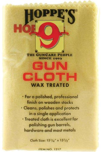 "Hoppe's No.9 Cleaning Accessories, Wax Treated Gun Cloth - 12""x17""?>"