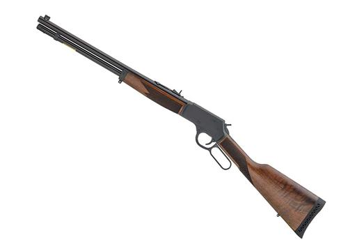 "Henry Big Boy Steel Lever Action Rifle - 357 Mag/38 Special, 16.5"", Blued, Steel Receiver, American Walnut Stock w/Straight Grip, 7rds?>"