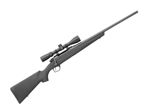 "Remington Model 783 Scoped Bolt Action Rifle - 300 Win Mag, 24"", Carbon Steel, Button Rifled, Matte Black, Magnum Contour, Black Synthetic Stock, Pillar-Bedded, 4rds, CrossFire Adjustable Trigger, SuperCell Recoil Pad, w/3-9x40mm Scope?>"