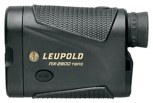 Leupold Optics - RX-2800i TBR/W with DNA Laser Rangefinder, 6x, 2800 Yards, CR2, Black/Grey, OLED Selectable Reticles?>
