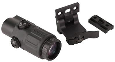 EOTech Holographic Weapon Sights - Model G33 Magnifier, 3x, Black, w/Switch To Side Quick Detach Lever Mount?>