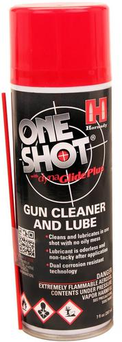 Hornady Lubes & Cleaners - One Shot Spray Gun Cleaner & Lube, 5oz (141g) Aerosol?>