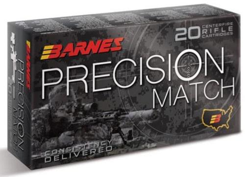 Barnes Precision Match Rifle Ammunition - 308 Win, 175 Gr, Open-Tip Match (OTM), 20rds Box?>
