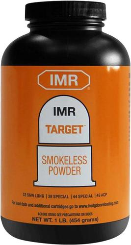 IMR Smokeless Pistol & Shotgun/Rifle Powders - IMR Target, 1lb (32 S&W Long, 38 Spl, 44 Spl, 45 ACP)?>