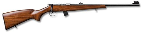 "CZ 455 Super Match Rimfire Bolt Action Rifle - 22 LR, 20-1/2"", Polycoat, Hammer Forged, Beech Stock, 10rds, Adjustable Sights, Adjustable Trigger?>"
