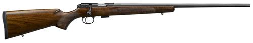 "CZ 457 American Bolt-Action Rifle - 17 HMR, 24.8"", Cold Hammer Forged, Turkish Walnut American Stock, Detachable Mag, Adjustable Trigger, 5rds?>"