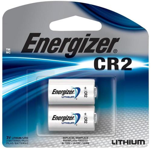 Energizer Batteries, Speciality Batteries, Specialty Lithium/Photo Batteries - Energizer Photo Lithium CR2 Battery, 3V, 2-Pack?>