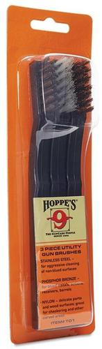 Hoppe's Utility Gun Cleaning Brushes - 3 Pack?>