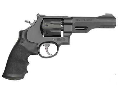 "Smith & Wesson (S&W) Performance Center Model 327 TRR8 DA/SA Revolver - 357 Mag, 5"", Matte Black, Scandium Alloy Frame & Stainless Steel Cylinder, Large Frame (N), Synthetic Grip, 8rds, Interchangeable Front & Adjustable  Rear Sights?>"