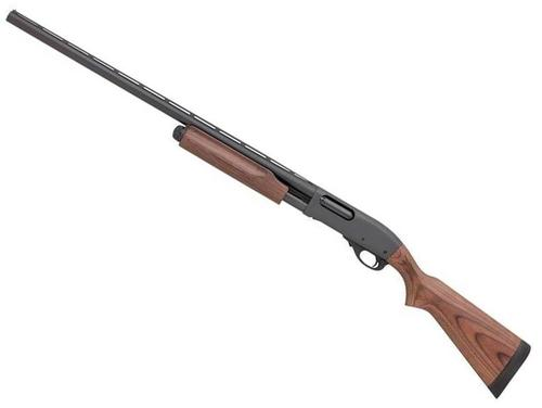 "Remington Model 870 Express Pump Action Shotgun, Left Hand - 12Ga, 3"", 28"", Vented Rib, Matte Black, Satin Laminate Stock, 4rds, Single Bead Sight, Rem Choke (Modified)?>"