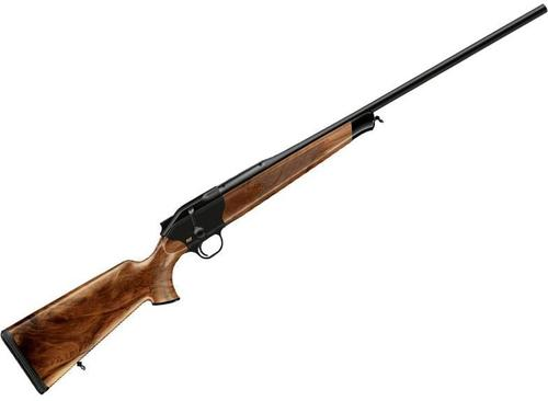 "Blaser R8 Jaeger Edition Straight Pull Bolt Action Rifle - 6.5 Creedmoor, 22"", Black Receiver, Grade 3 Wood Stock With Bavarian Cheek Piece & Double Rabbet, Black Synthetic Forearm Tip?>"