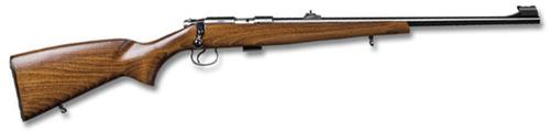 "CZ 455 Standard Rimfire Bolt Action Rifle - 22 LR, 21"", Hammer Forged, Polycoat, Beech Stock, 5rds, Adjustable Sights, Adjustable Trigger?>"
