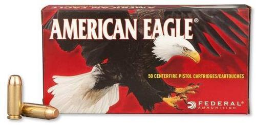 Federal American Eagle Handgun Ammo - 10mm Auto, 180Gr, FMJ, 50rds Box?>