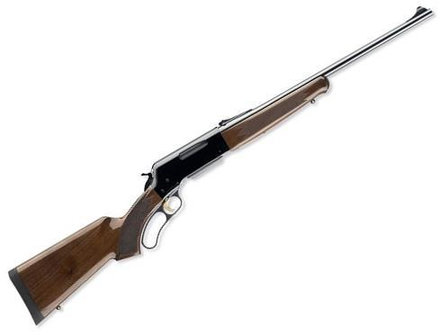 "Browning BLR Lightweight w/Pistol Grip Lever Action Rifle - 308 Win, 20"", Sporter Contour, Polished Blued, Polished Black Aluminum Alloy Receiver, Gloss Grade I Black Walnut Stock w/Checkered Pistol Grip & Schnabel Forearm, 4rds, Brass Bead Front & Fully?>"
