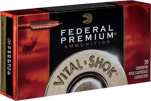 Federal Vital-Shok Rifle Ammo - 6.5 Creedmoor, 120gr, Trophy Copper Tipped Boat Tail, 20rds Box?>