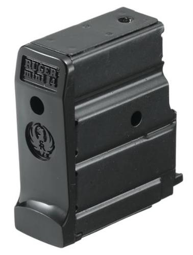 Ruger Magazines & Loaders, Autoloading Rifles - Mini-14 Magazine, 223 Rem, 5rds?>