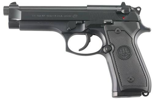 Beretta M9 Commercial DA/SA Semi-Auto Pistol - 9mm Luger, 125mm, Chrome Lined, Black Oxide/PVD Finished, Steel Slide & Alloy Frame, 2x10rds Mag?>
