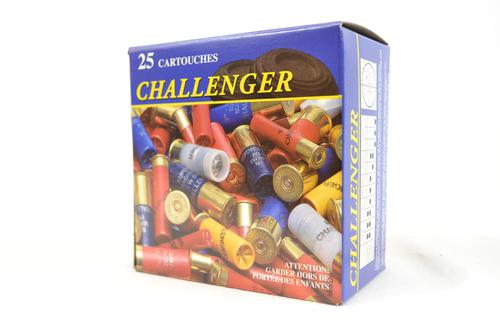"Challenger Hunting Loads Shotgun Ammo - Buck Shot Magnum, 12Ga, 2-3/4"", 9 Pellets, 00 Buck, 25rds Box?>"