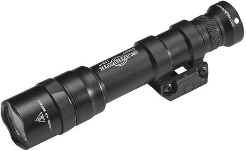 SureFire M600DF Dual Fuel LED Scout Light - 1500 lumens, 1.5 hours, TIR Lens, x1 18650 Battery & Charge Cable (included),  Mil-Spec Hard-Anodized, Black?>