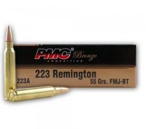 PMC Bronze Rifle Ammo - 223 Rem, 55Gr, FMJ-BT, 20rds Box?>