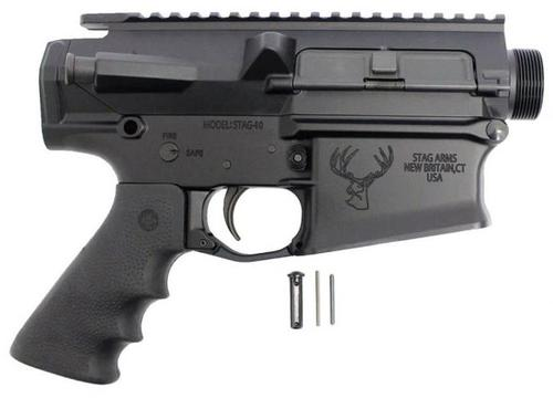 Stag Arms 10 Upper/Lower Combo Receiver Set With Lower Parts, Trigger, Ergo Grip?>