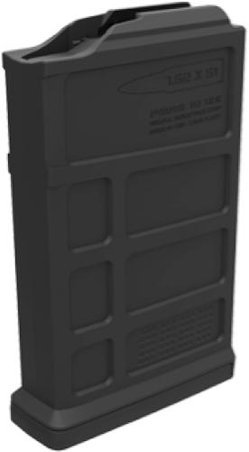 Magpul PMAG Magazines - PMAG 10 7.62 AC, Remington 700, AICS Short Action, 7.62x51mm NATO, 10rds, Black?>