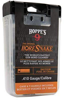 "Hoppe's No.9 The ""Original"" BoreSnake - Shotguns, .410 Gauge, Inc. T-Handle & Case?>"