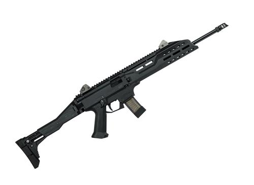 "CZ Scorpion Evo 3 S1 Carbine Semi Auto Carbine - 9mm, 18.6"" Factory Barrel, Muzzle Brake, 5rds, Black, Non Restricted?>"