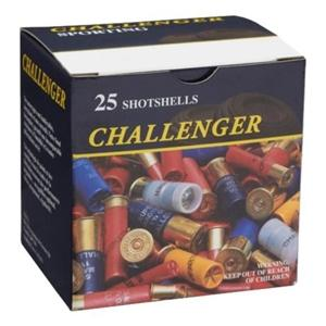 "Challenger Steel Magnum Shotgun Ammo, High Velocity Steel - 12Ga, 2-3/4"", 1-1/8oz, BBB, 1450fps, 25rds Box?>"