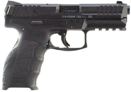 Heckler & Koch (H&K) SFP9-SF Striker Fired Single Action Semi-Auto Pistol - 9mm, 106mm, Polygonal Profile, Blued, Fiber-Reinforced Polymer Grip Frame, 2x10rds, Fixed Sights?>